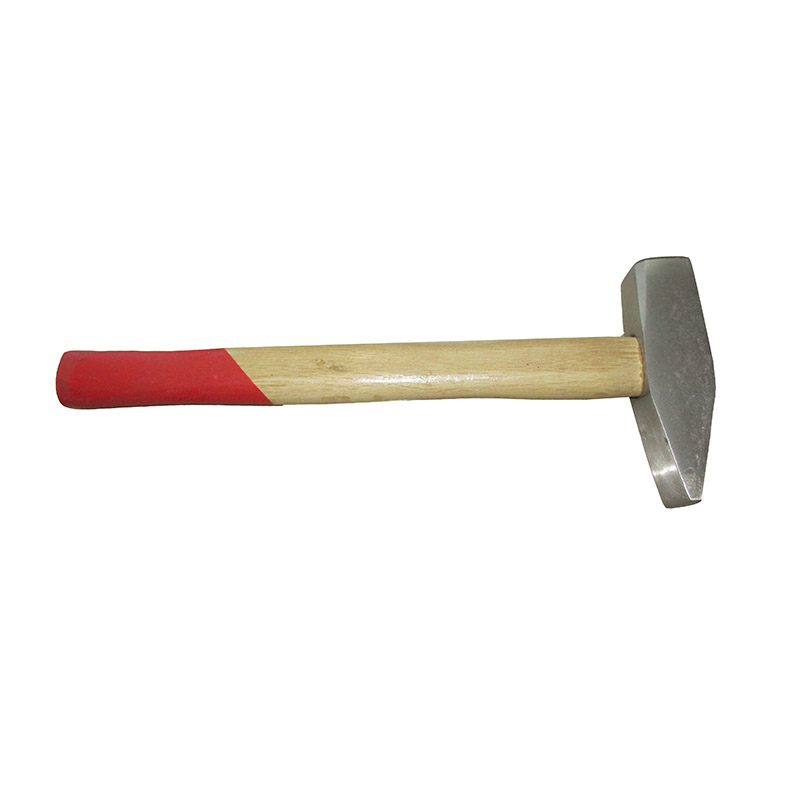 HAMMER-MACHINIST HAMMER WITH WOODEN HANDLE