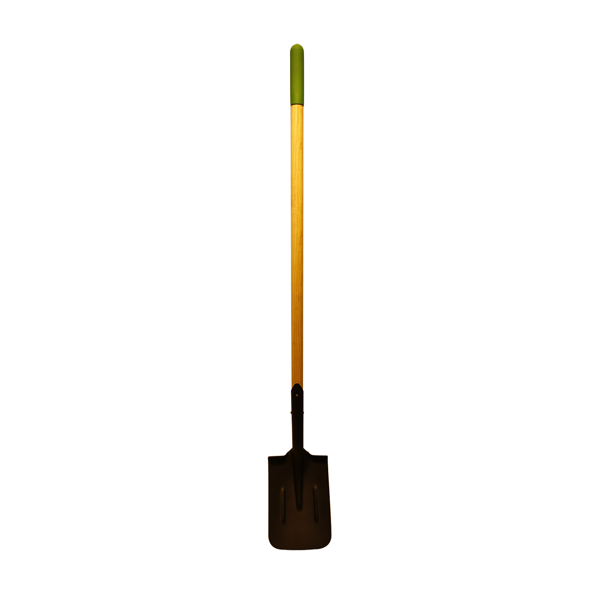 120cm timber handle post hole shovel with rubber grip  AUWL07